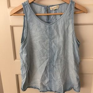 Cloth & Stone denim tank top